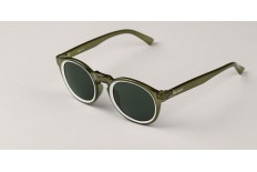 Mr. Boho AG8-11 CIRCULAR CREAM/OLIVE JORDAAN WITH CLASSICAL LENSES