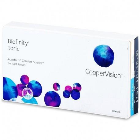 Biofinity Toric (3 unidades)